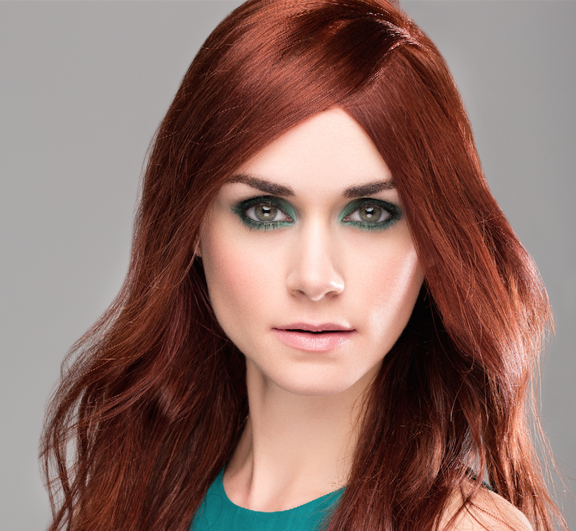 ... blue eyes beautiful makeup middot green; green eyes red hair color ideas for dark skin long this crimson demands a fair amount ...