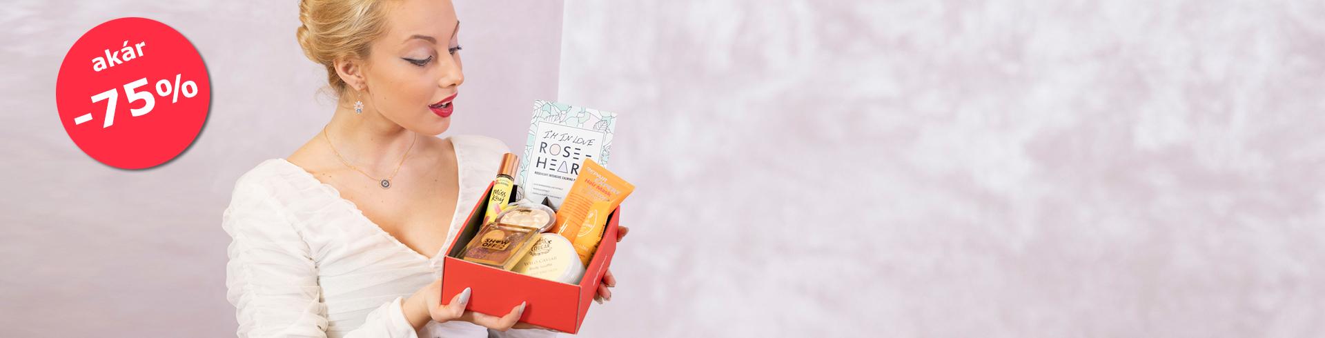 Az első és egyetlen személyre szabott kozmetikai doboz